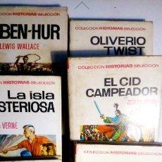 Libros antiguos: COLECCION HISTORIAS EDITORIAL BRUGUERA. . Lote 137384514