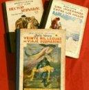 Libros antiguos: JULIO VERNE, 3 OBRAS (1935) HECTOR SERVADAC, UNA INVERNADA.. LEGUAS VIAJE SUBMARINO, ED. R. SOPENA. Lote 137966806