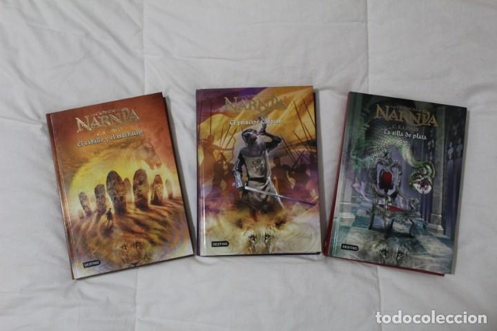 LIBROS LAS CRÓNICAS DE NARNIA. AUTOR C.S LEWIS. (Libros Antiguos, Raros y Curiosos - Literatura Infantil y Juvenil - Novela)