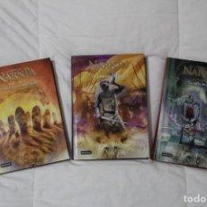 Libros antiguos: LIBROS LAS CRÓNICAS DE NARNIA. AUTOR C.S LEWIS.. Lote 262998625