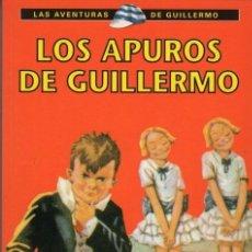 Libros antiguos: LOS APUROS DE GUILLERMO. Lote 139148810