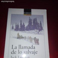 Libros antiguos: LIBRO-LA LLAMADA DE LO SALVAJE-JACK LONDON-ANAYA-VER FOTOS. Lote 139360558