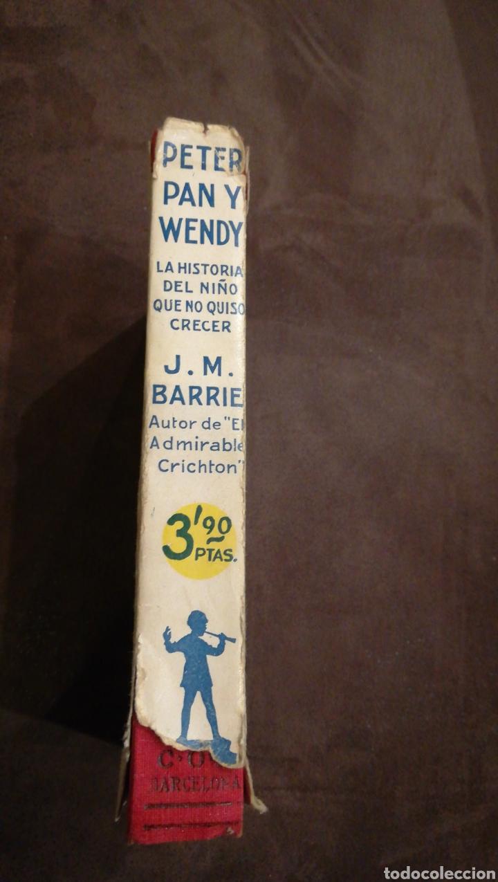 Libros antiguos: Peter pan y Wendy - Foto 3 - 139756614