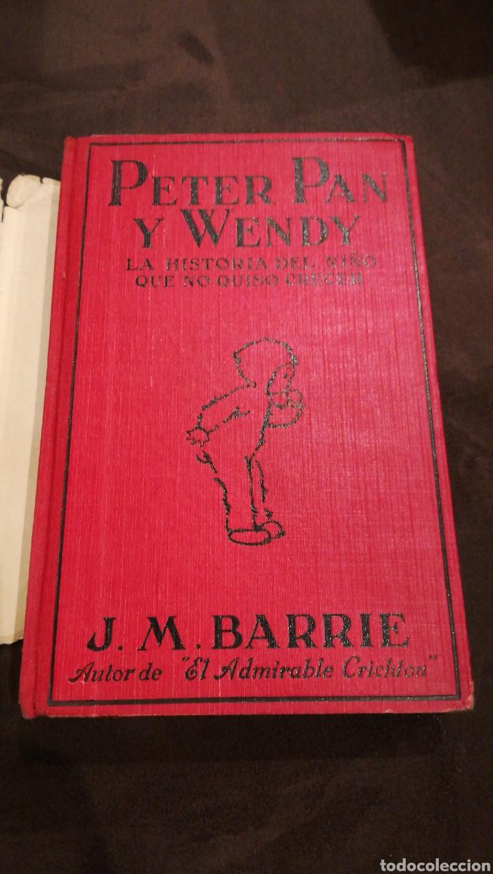 Libros antiguos: Peter pan y Wendy - Foto 4 - 139756614