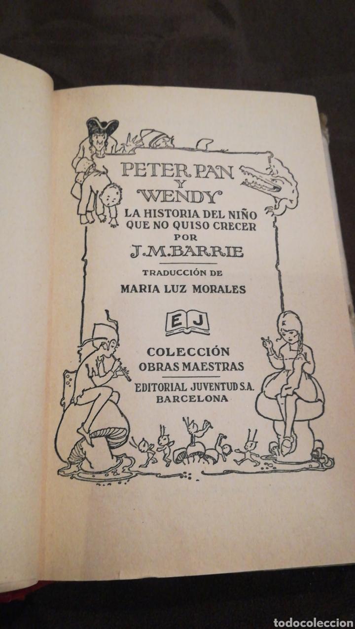 Libros antiguos: Peter pan y Wendy - Foto 5 - 139756614