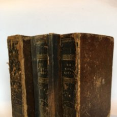Libros antiguos: AÑO 1846 - LAS MIL Y UNA NOCHES (3 TOMOS) - GALLAND, TRADUCIDO AL CASTELLANO. P. MELLADO EDITOR. Lote 142137744