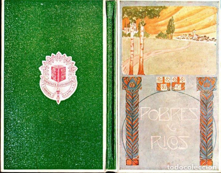 FOLCH Y TORRES : POBRES Y RICOS (ELZEVIRIANA CAMÍ, 1922) (Libros Antiguos, Raros y Curiosos - Literatura Infantil y Juvenil - Novela)