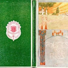 Libros antiguos: FOLCH Y TORRES : POBRES Y RICOS (ELZEVIRIANA CAMÍ, 1922). Lote 142255322