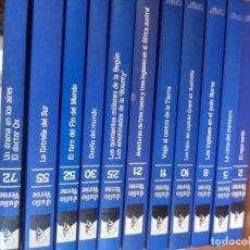 Libros antiguos - Lote Julio Verne Orbis. 11 libros. N.2,5,8,10,11,21,25,30,52,55 y 72 - 143632778