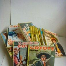 Libros antiguos: NOVELA DE EL COYOTE LOTE DE 18 NOVELAS (#). Lote 143917350