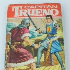 Libros antiguos: CAPITAN TRUENO, Nº 15 - LOS PIRATAS ARGELINOS - COLECCION HEROES, TAPA DURA - ED. BRUGUERA - 1ª EDIC. Lote 143989046