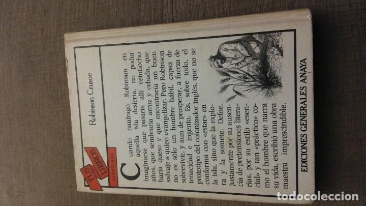 Libros antiguos: Tus libros Robinson crusoe - Foto 2 - 144812050