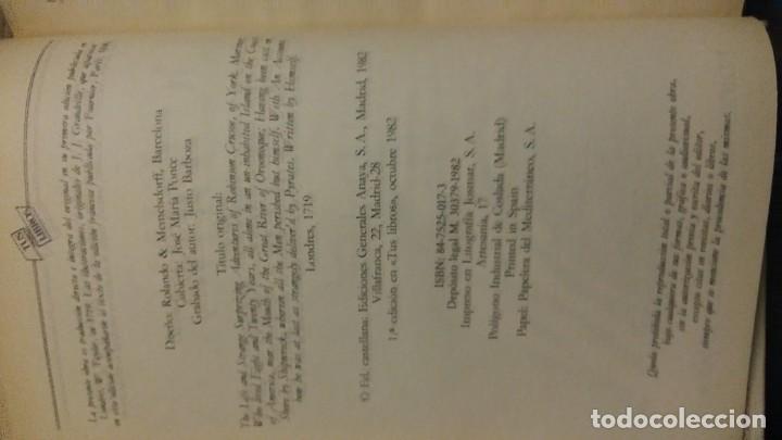 Libros antiguos: Tus libros Robinson crusoe - Foto 4 - 144812050