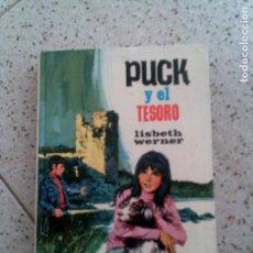 Libros antiguos: NOVELA JUVENIL ,PUCK Y EL TESORO N,16 DE TORAY AÑO 1976. Lote 144835486