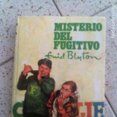 Libros antiguos: NOVELA DE ENID BLYTON MISTERIO DEL FUGITIVO EDITORIAL MOLINO AÑO 1962. Lote 144836182
