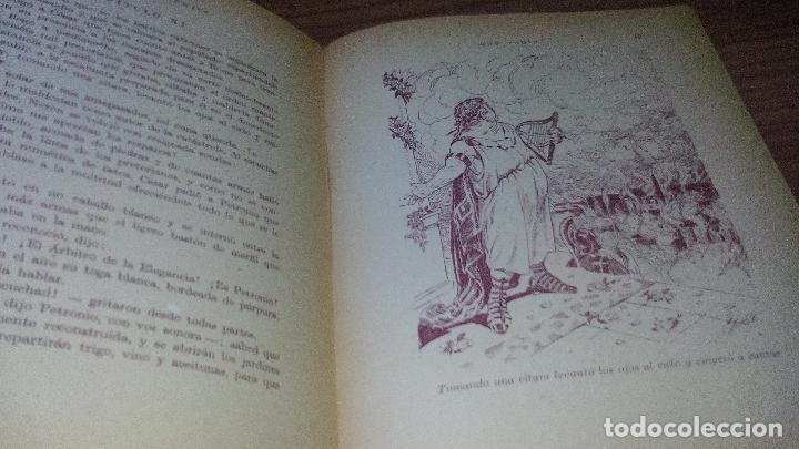 Libros antiguos: QUO VADIS? ADAPTADO A LOS NIÑOS (EDITORIAL MAUCCI - 1952) - ..........ZXY - Foto 5 - 145620186