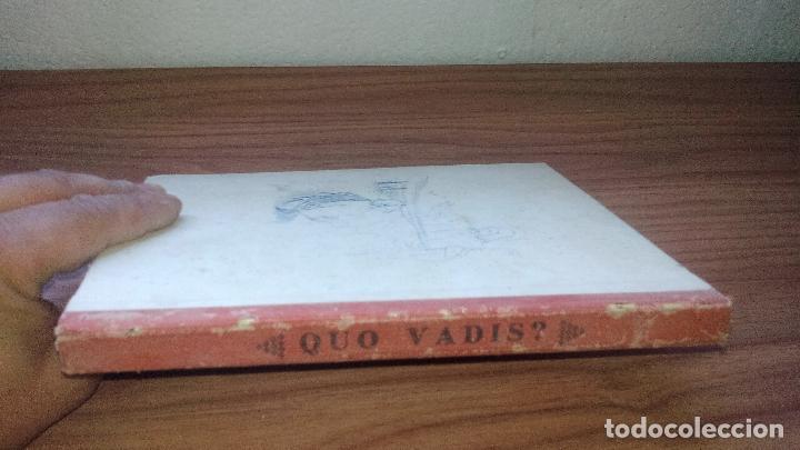 Libros antiguos: QUO VADIS? ADAPTADO A LOS NIÑOS (EDITORIAL MAUCCI - 1952) - ..........ZXY - Foto 6 - 145620186