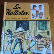 Libros antiguos: LIBRO LOS HOLLISTER Y EL MISTERIO DEL RANCHO Nº 22 (1994) DE JERRY WEST. EDICIONES TORAY. COMO NUEVO. Lote 145774658