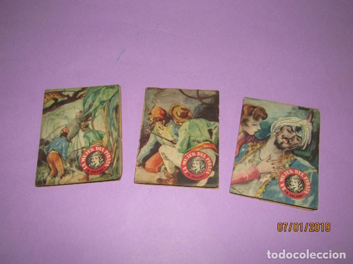 SERIE *NOVELAS EN DIBUJOS* *LA MUJER DEL PIRATA* E. SALGARI EDIT. SATURNINO CALLEJA 1930S (Libros Antiguos, Raros y Curiosos - Literatura Infantil y Juvenil - Novela)