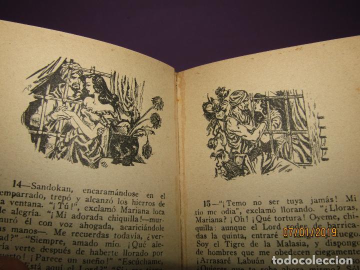 Libros antiguos: Serie *Novelas en Dibujos* *LA MUJER DEL PIRATA* E. Salgari Edit. Saturnino CALLEJA 1930s - Foto 3 - 146033974