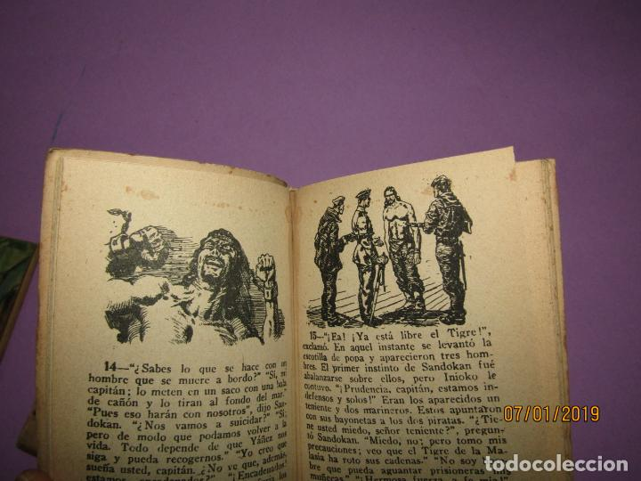 Libros antiguos: Serie *Novelas en Dibujos* *LA MUJER DEL PIRATA* E. Salgari Edit. Saturnino CALLEJA 1930s - Foto 4 - 146033974