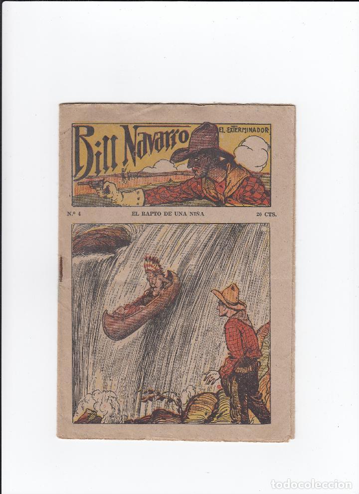 BILL NAVARRO.EL EXTERMINADOR.EL RAPTO DE UNA NIÑA. Nº 4.EDITORIAL EL GATO NEGRO ( BRUGUERA ).BCN. (Libros Antiguos, Raros y Curiosos - Literatura Infantil y Juvenil - Novela)