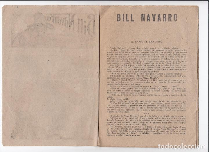 Libros antiguos: Bill Navarro.El exterminador.El rapto de una niña. Nº 4.editorial El gato Negro ( Bruguera ).BCN. - Foto 2 - 147378026