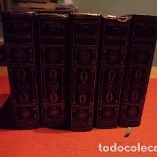 Libros antiguos: NOVELAS EN 5 TOMOS DE DOS ESCRITORES (VER FOTOS). Lote 147396462