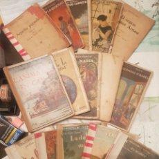 Libros antiguos: LOTE DE LIBROS FOLCH Y TORRES BIBLIOTECA GENTIL. Lote 148068802