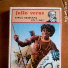 Libros antiguos: LIBRO DE JULIO VERNE CINCO SEMANAS EN GLOBO EDITORIAL MOLINO ,AÑO 1985. Lote 148189530