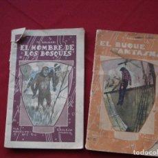 Libros antiguos: DOS LIBRITOS E. SALGARI DE EDITORIAL CALLEJA 1935. Lote 132206058