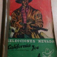 Libros antiguos: SELECCIONES NEVADA.CALIFORNIA JOE.LAWRENCE CRIPPS.. Lote 151357358