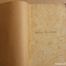 Libros antiguos: JULIO VERNE . FAMILIA SIN NOMBRE , 4 LIBROS. EDITOR AGUSTIN JUBERA HNOS. AÑO 1889, BONITOS GRABADOS. Lote 151382798