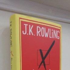 Libros antiguos: UNA VACANTE IMPREVISTA J.K.ROWLING. Lote 151848862