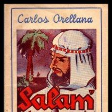Libros antiguos: LIBRO, COLECCION LA ESCENA, SALAM, LA PAZ SEA CONTIGO 1944.. Lote 152654638