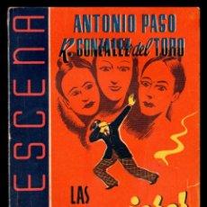 Libros antiguos: LIBRO, LA ESCENA, LAS MUJERES DE ZORRILLA 1942.. Lote 152746130