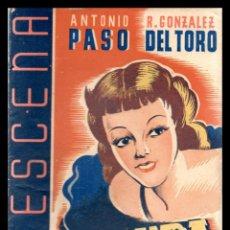 Libros antiguos: LIBRO, LA ESCENA, LA PURA VERDAD 1942.. Lote 152746726