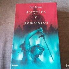 Libros antiguos: ANGELES Y DEMONIOS DAN BROWN. Lote 153650634