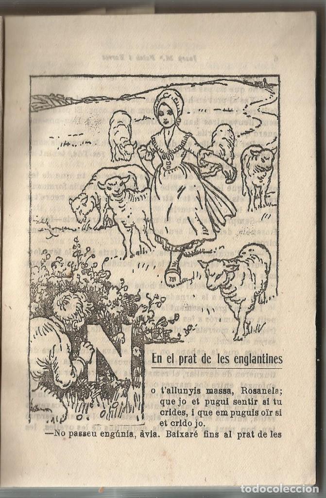 Libros antiguos: BIBLIOTECA PATUFET - ROSANELA O EL SECRET DEL JOGLAR - Folch i Torres - Foto 3 - 153680382