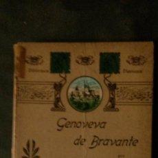 Libros antiguos: GENOVEVA DE BRAVANTE-CRISTÓBAL SCHMID-(LIBRERIA MONTSERRAT-1905). Lote 178174360