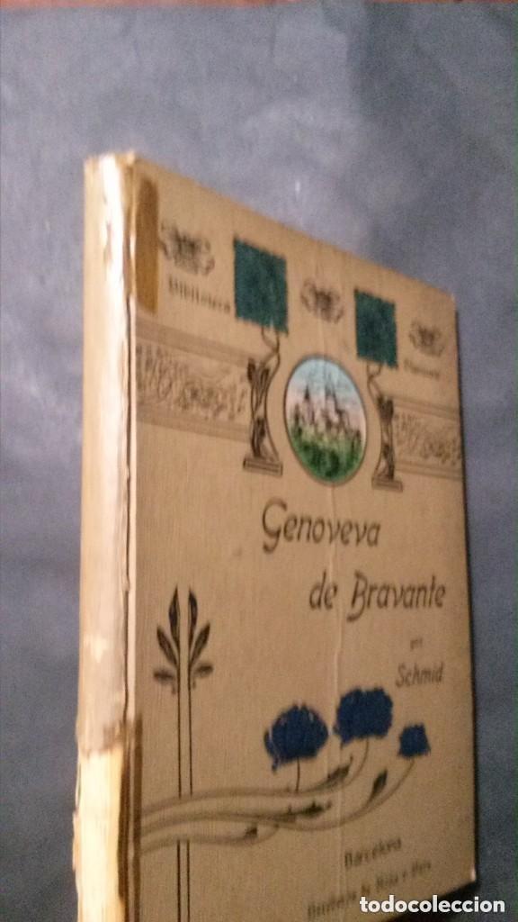 Libros antiguos: GENOVEVA DE BRAVANTE-CRISTÓBAL SCHMID-(LIBRERIA MONTSERRAT-1905) - Foto 2 - 178174360
