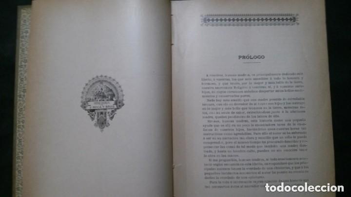 Libros antiguos: GENOVEVA DE BRAVANTE-CRISTÓBAL SCHMID-(LIBRERIA MONTSERRAT-1905) - Foto 5 - 178174360