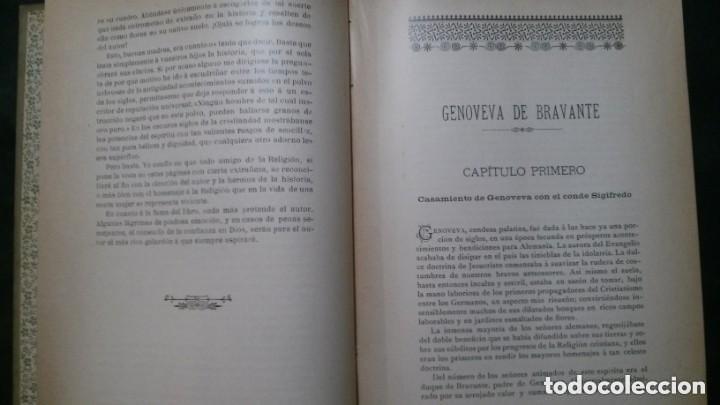 Libros antiguos: GENOVEVA DE BRAVANTE-CRISTÓBAL SCHMID-(LIBRERIA MONTSERRAT-1905) - Foto 6 - 178174360