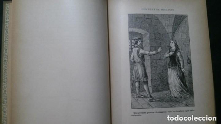 Libros antiguos: GENOVEVA DE BRAVANTE-CRISTÓBAL SCHMID-(LIBRERIA MONTSERRAT-1905) - Foto 7 - 178174360