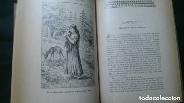 Libros antiguos: GENOVEVA DE BRAVANTE-CRISTÓBAL SCHMID-(LIBRERIA MONTSERRAT-1905) - Foto 10 - 178174360