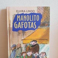 Libros antiguos: MANOLITO GAFOTAS. ELVIRA LINDO.. Lote 154043202