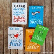 Libros antiguos: LOTE 4 (+1) LIBROS AUTOR BLUE JEANS: TÍTULOS EN INTERIOR. ESPAÑOL, GRAN ESTADO!. Lote 154517986