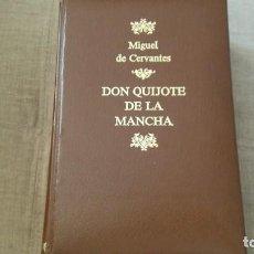 Libros antiguos: DON QUIJOTE DE LA MANCHA EDITORIAL PLANETA 1989 1 EDICION. Lote 155047138