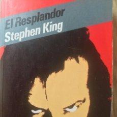 Libros antiguos: EL RESPLANDOR. STEPHEN KING. Lote 155161622