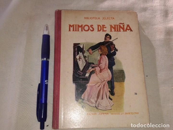 MIMOS DE NIÑA, BIBLIOTECA SELECTA, 1936 (Libros Antiguos, Raros y Curiosos - Literatura Infantil y Juvenil - Novela)